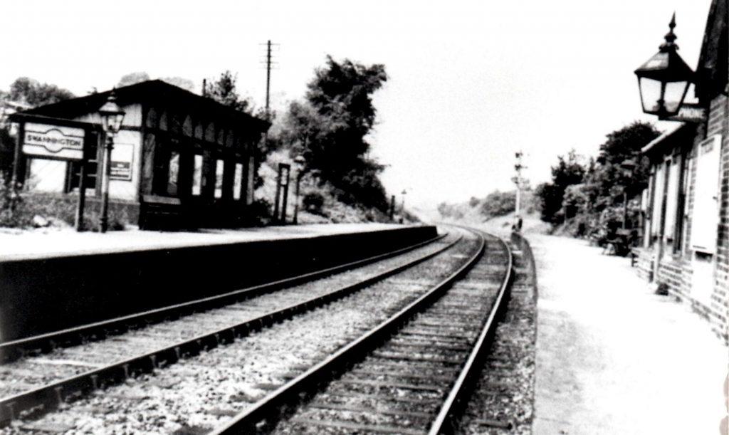 2 Swannington Railway Station Photo Coalville Ashby-de-la-Zouch.