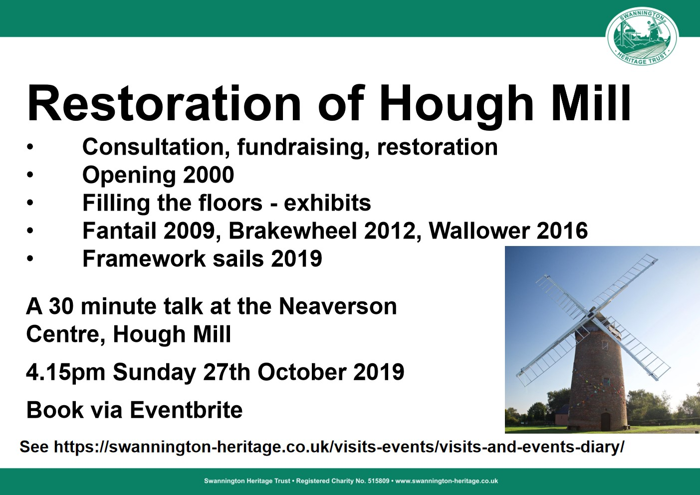 The 25 year restoration of Hough Mill