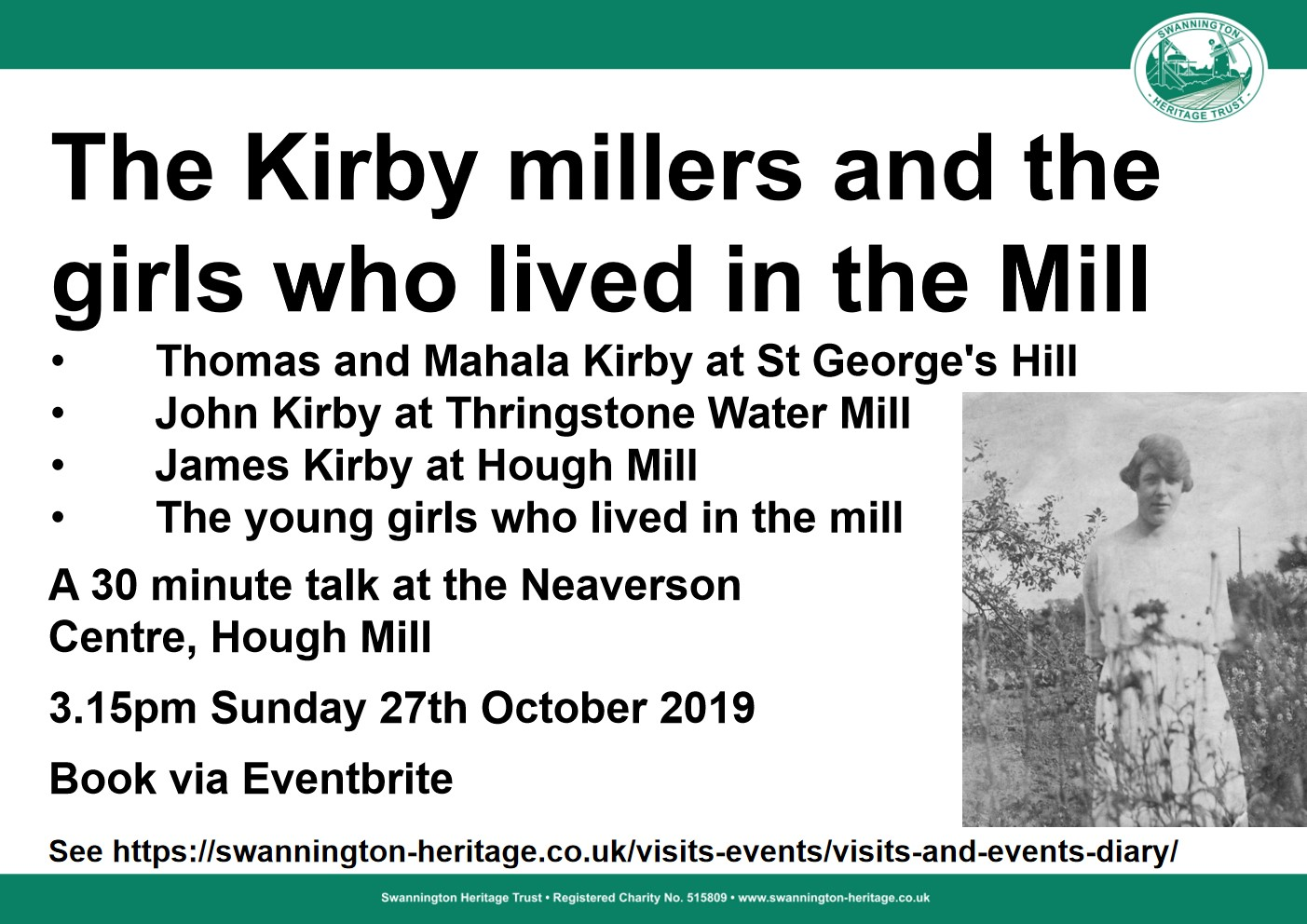 Talk on the Kirby millers who took over from the Griffin family